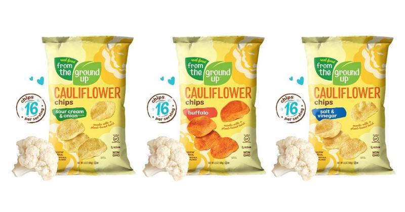 Cauliflower Potato Chips