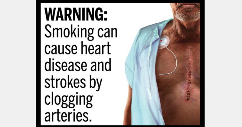 graphic cigarette warnings