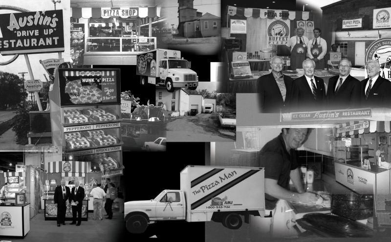 Hunt Brothers Pizza over the years montage