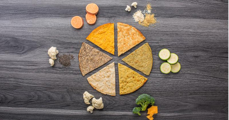 Rich Products' plant-based pizza crusts