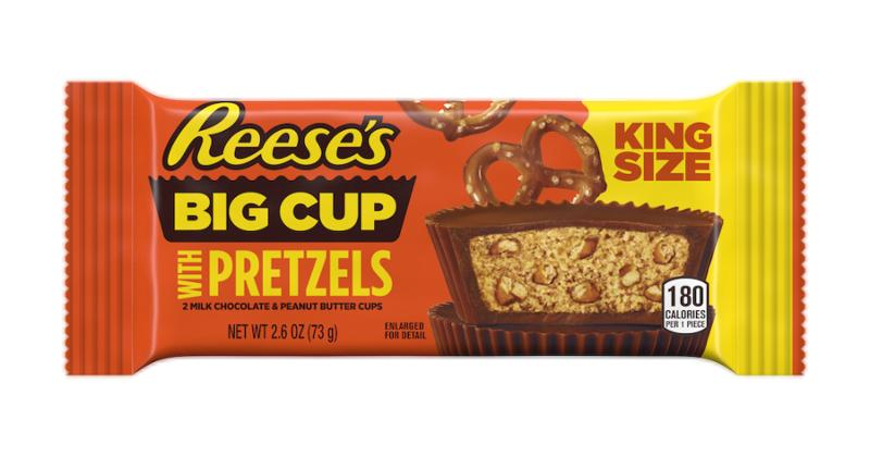Chocolate: Reese's Big Cup With Pretzels