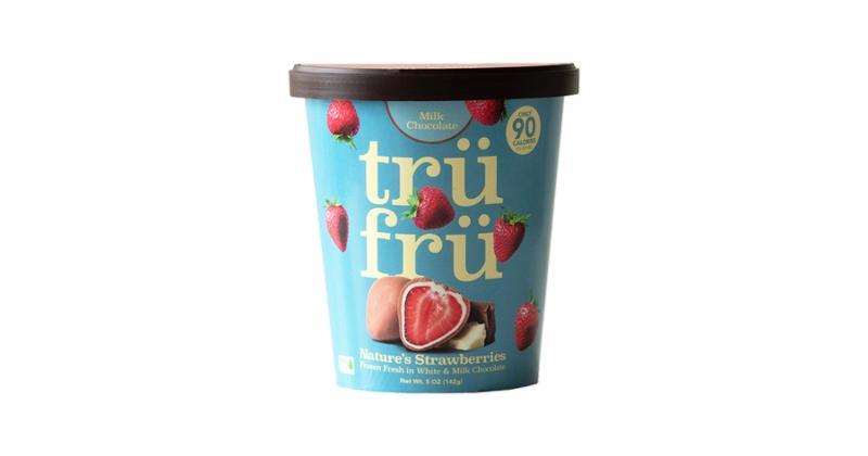 Sweet Snacks: Nature's Strawberries Hyper-Chilled Frozen Fresh