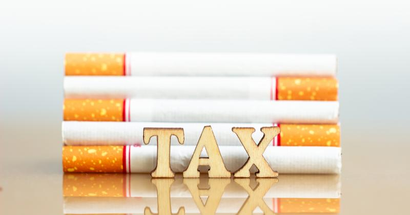 pending taxes on cigarettes and other tobacco products