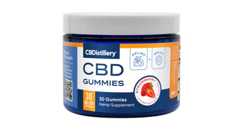 CBDistillery's 30 mg full-spectrum gummies with terpenes