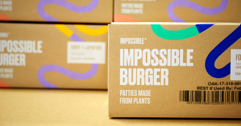 Impossible Foods boxes