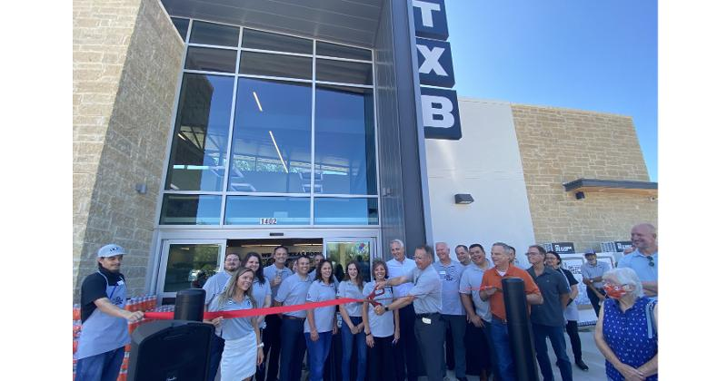 First new TXB, in Georgetown, Texas