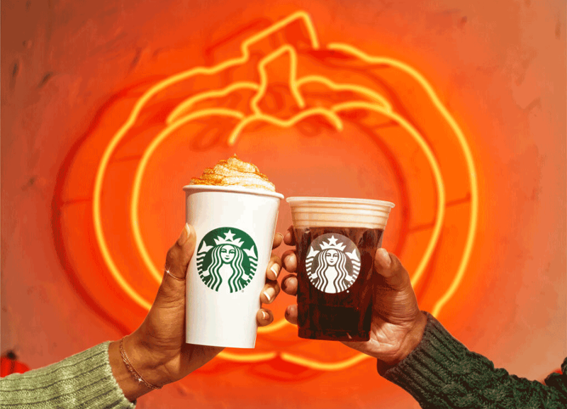 Starbucks PSL