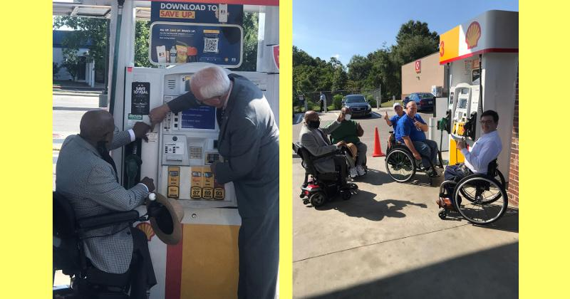 assistance at the pump