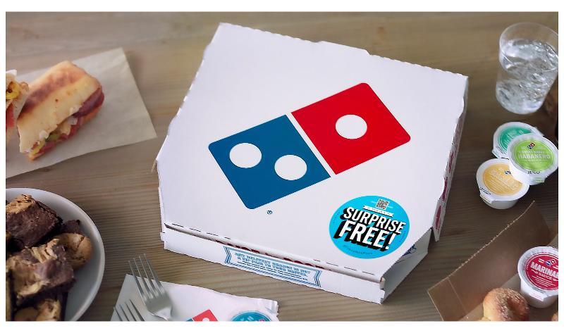 Domino's Surprise Free pizza