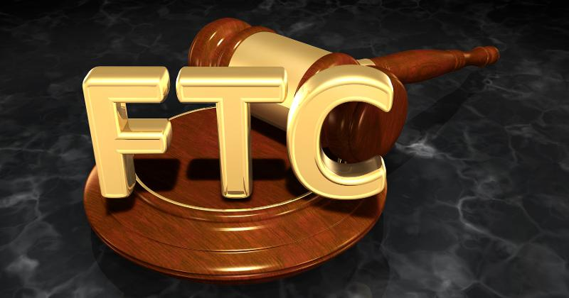 Federal Trade Commission gavel