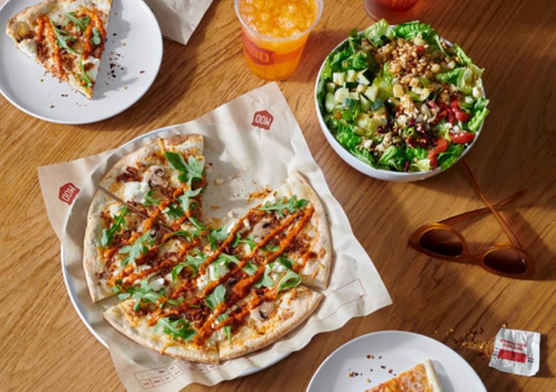 MOD Pizza plant-based sausage