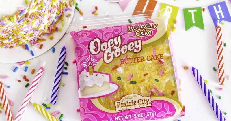 Prairie City Bakery Ooey Gooey Birthday Cake