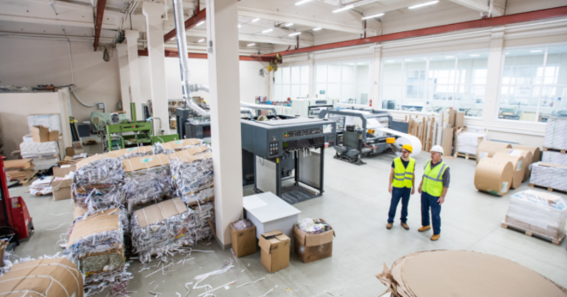 CPG recycling facility
