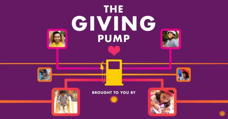 shell giving pump