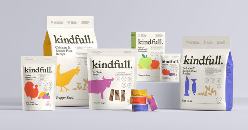 Target Kindfull pet food