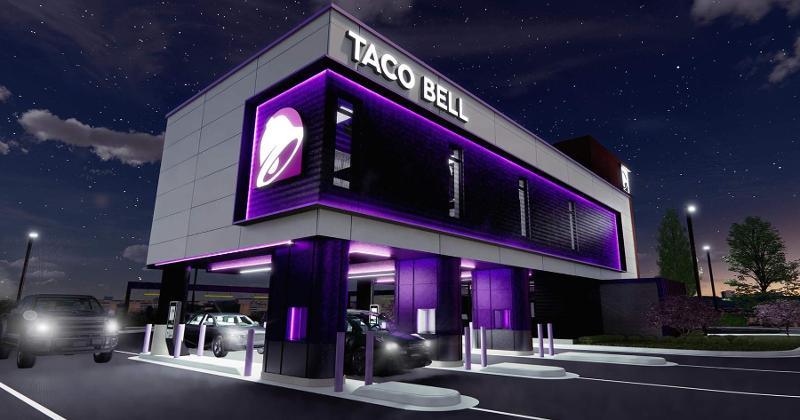 Taco Bell Defy rendering