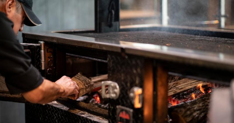 Smoker cooking