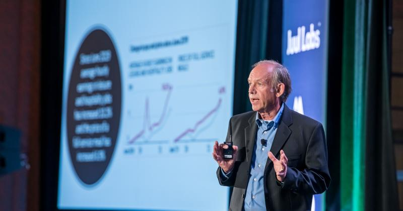 economist David Nelson at Outlook Leadership Conference