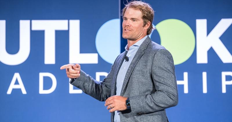 NFL Greg Olson at Outlook Leadership Conference
