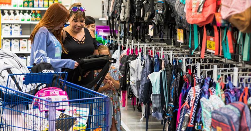 Meijer back-to-school shopping