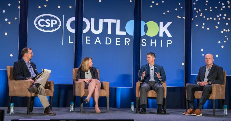 Outlook Leadership Conference panel