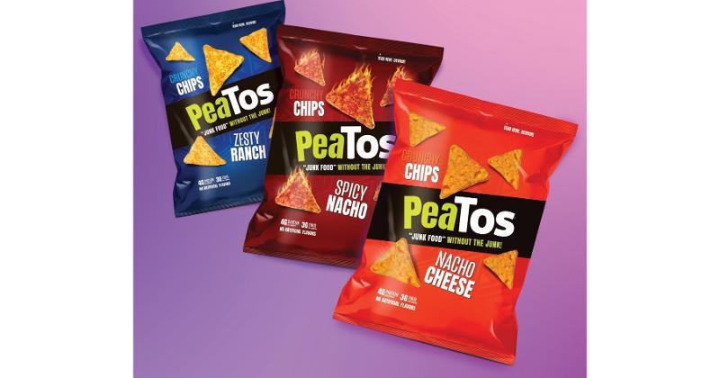 Peatos Tortilla Crunchy Chips