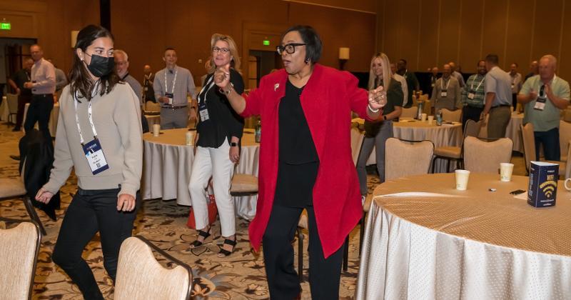 Cynthia Marshall, CEO of the Dallas Mavericks, at Outlook Leadership Conference