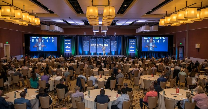 Outlook Leadership Conference full general session