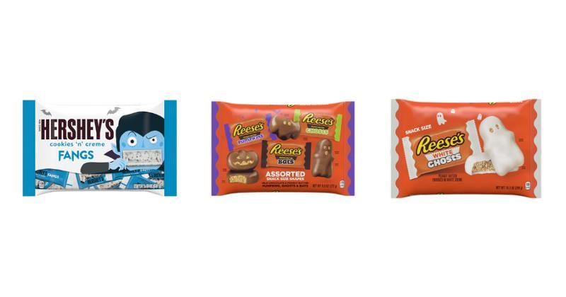 Hershey Halloween candies