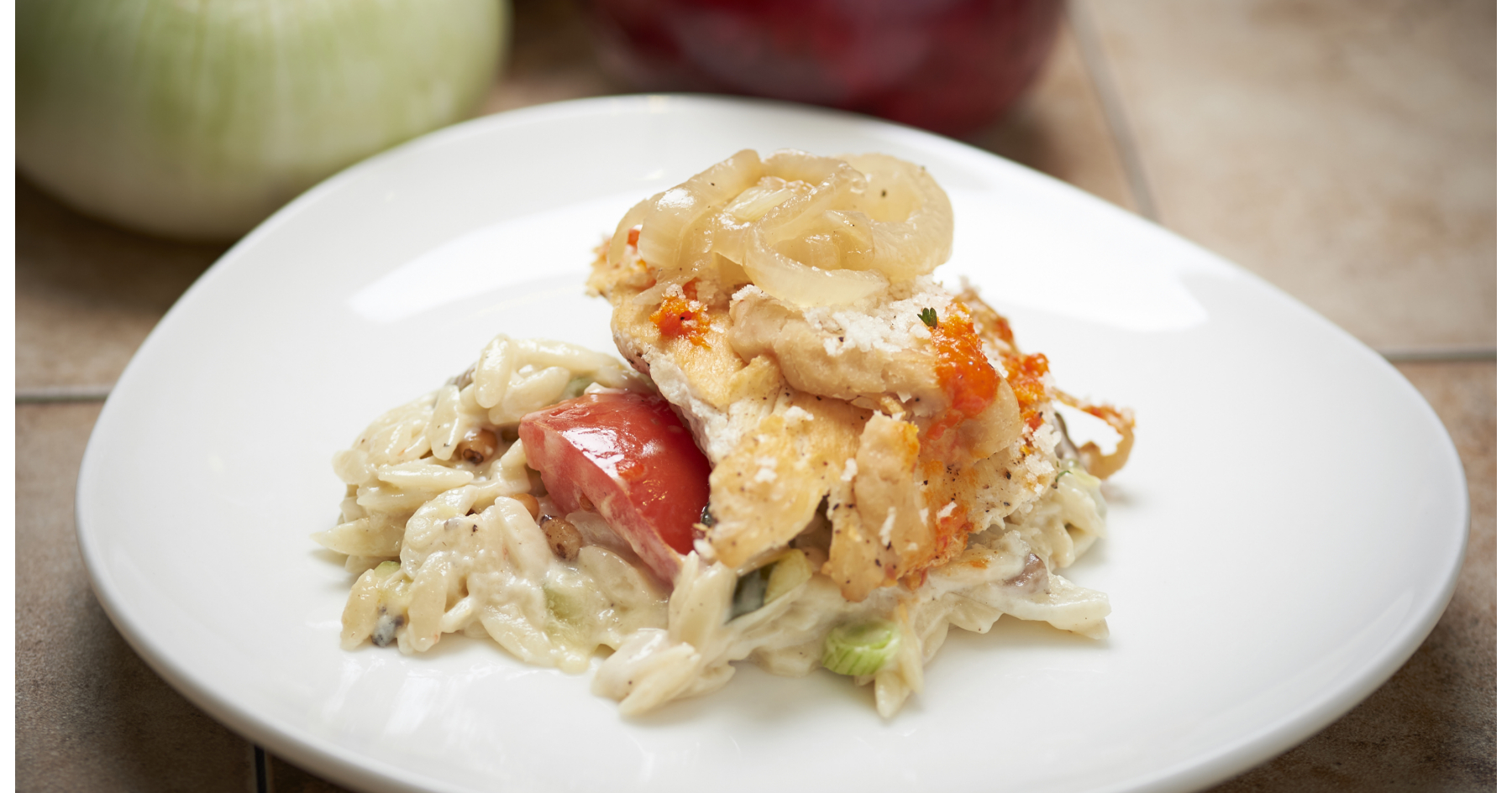 chicken with white beans and onions