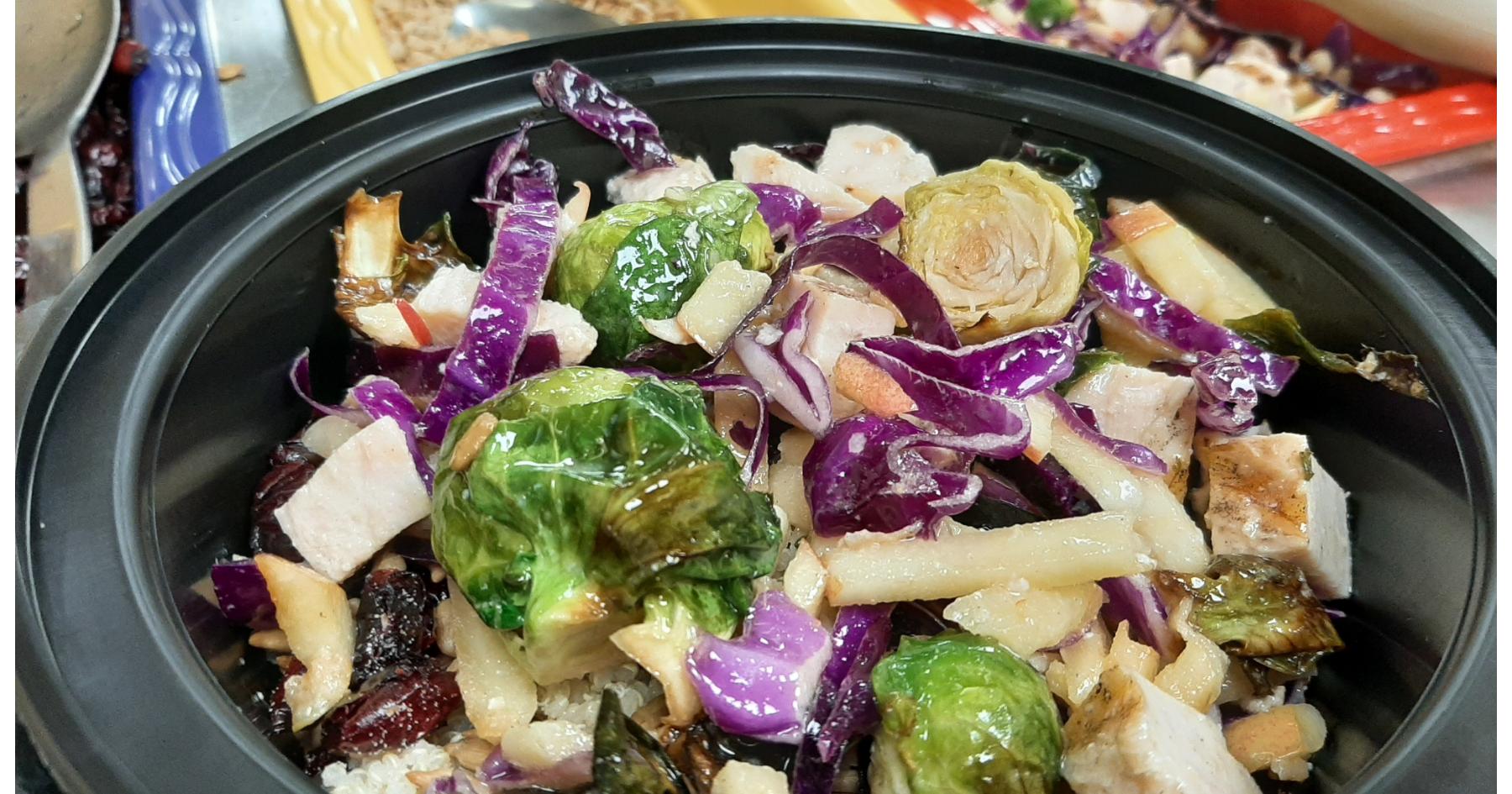 Autumn quinoa bowl