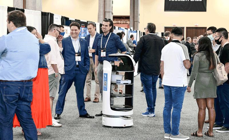 Robot at FSTEC 2021