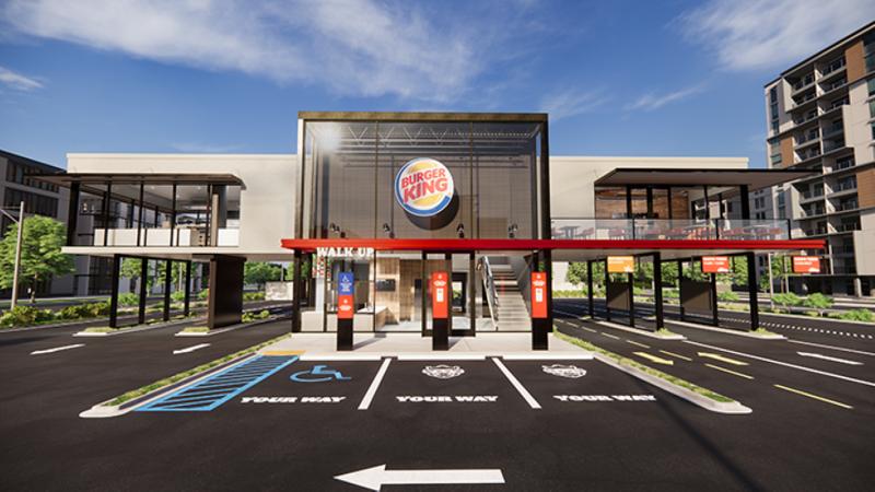Burger King emissions