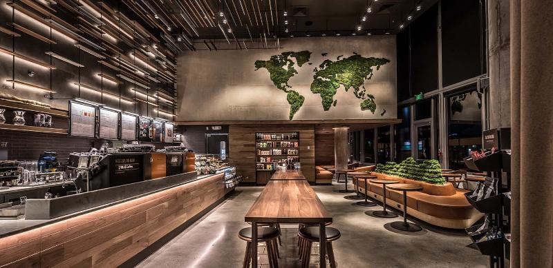 Starbucks greener stores
