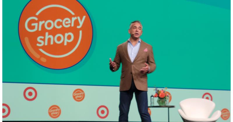 Target's Rick Gomez at Groceryshop 2021