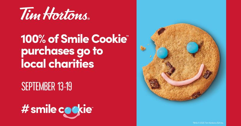 Tim Hortons Smile Cookies campaign