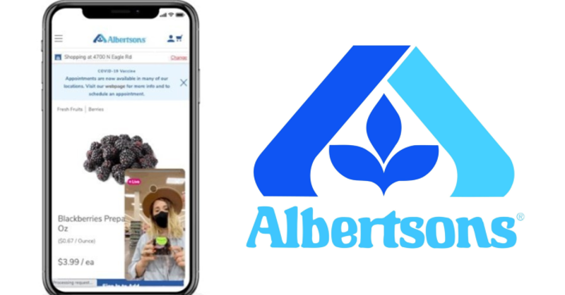 Albertsons and Firework partner for video content