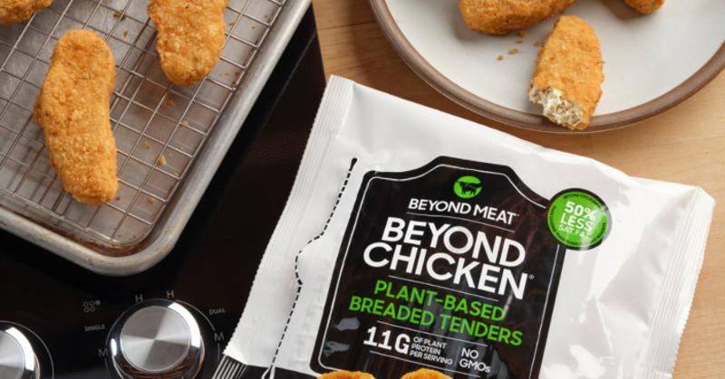 Beyond Meat plant-based tenders