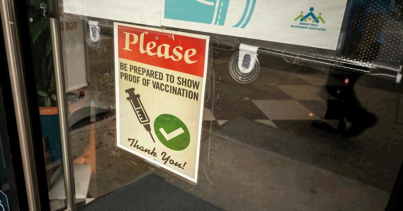 vaccine mandates restaurants