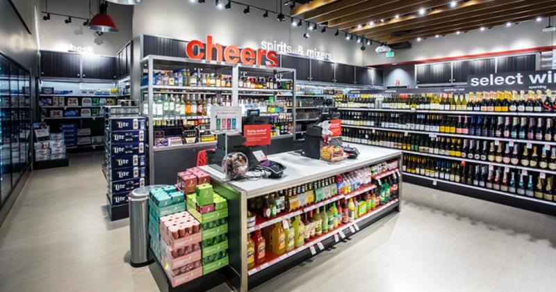 Target beverages display