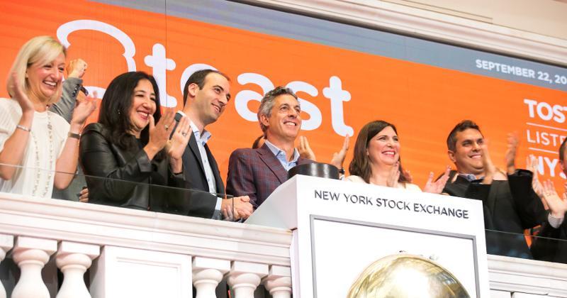 Toast leadership at NYSE