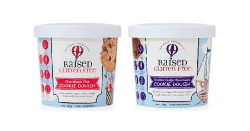 Raised Gluten Free Cookie Dough