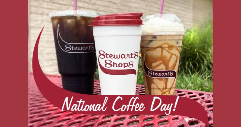 Stewart's Shops National Coffee Day