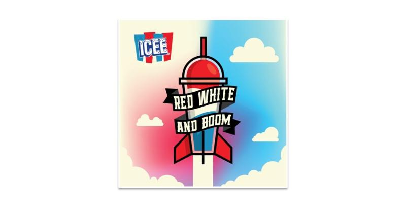 Icee Red White and Boom