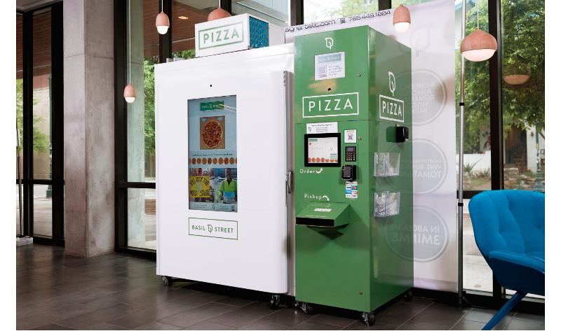 Basil Street pizza machine