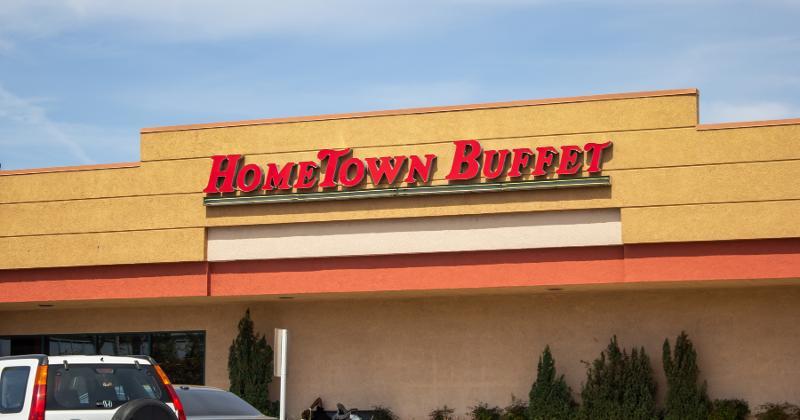 HomeTown Buffet exterior