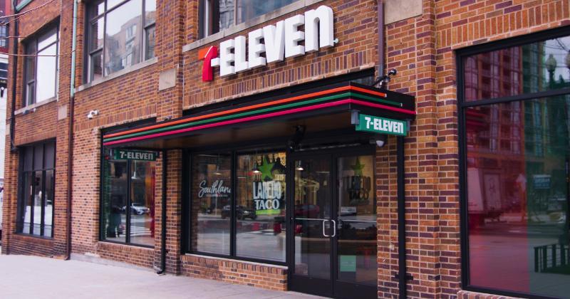A 7-Eleven Evolution store