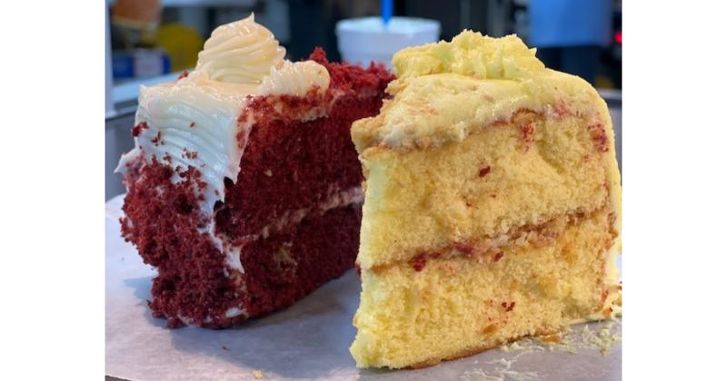 Drop-In Food Stores cake slices