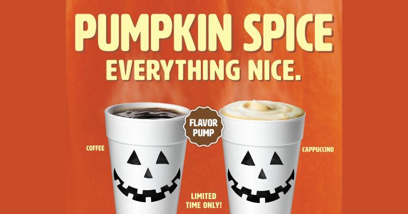 EG America's pumpkin spice