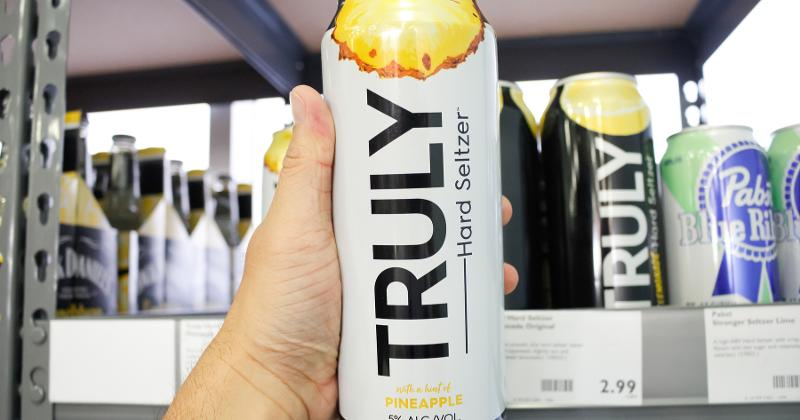 Truly Hard Seltzer in store